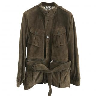 Burberry Mens Suede Jacket, gorgeous tone, BNWT