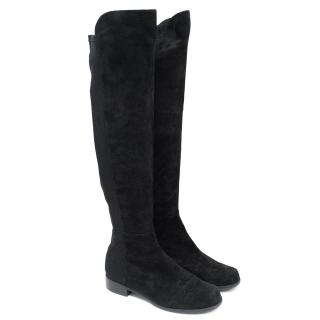 Stuart Weitzman Black 5050 Knee-High Boots