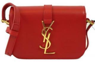 Saint Laurent Red Mini Crossbody Bag