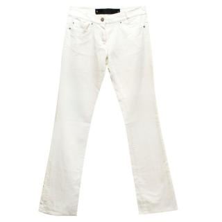 Barbara Bui Denim White Jeans