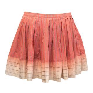 Twenty8twelve Orange Mini Skirt