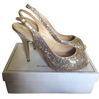 BCBG Max Azria Sequin Heels
