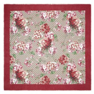 Gucci Blooms Print Shawl Scarf