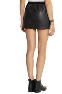 Isabel Marant Diamon Leather Skirt