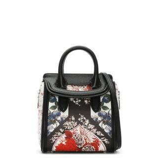 ALEXANDER MCQUEEN Mini Heroine Floral Tote Bag