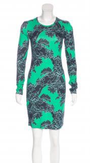 Jonathan Saunders Helen Lace-Print Dress