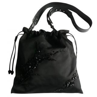 Prada embellished cross body bag