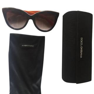 Dolce and Gabbana Cat-Eye Sunglasses