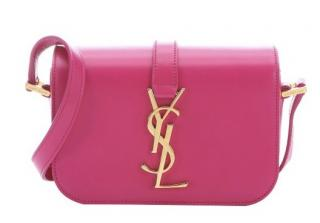 Yves Saint Laurent Pink Leather Crossbody Bag