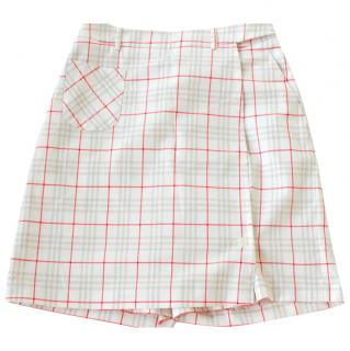 Burberry Check Skirt