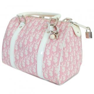 Christian Dior Pink Monogram Bag