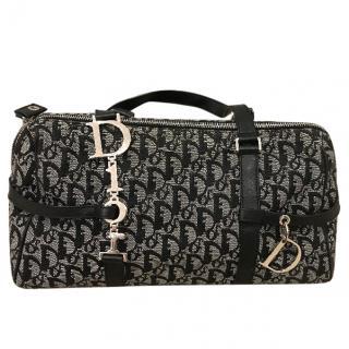 Christian Dior Black and Grey Bag