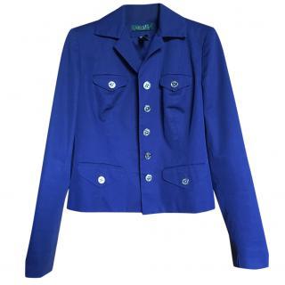 Lauren Ralph Lauren Blue Jacket size 8