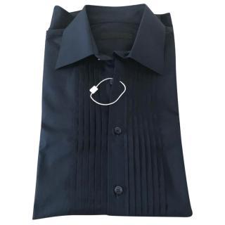 Burberry Blue Dress Shirt