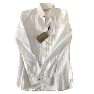 Burberry White Dress Shirt