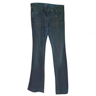 Dolce and Gabbana flared denim jeans