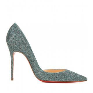 Christian Louboutin Glitter Iriza Heels