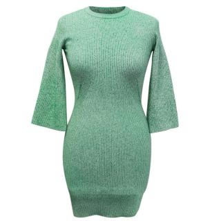 Stella McCartney Green Rib Dress