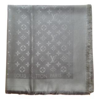 Louis Vuitton Khaki shawl scarf