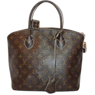 Louis Vuitton Limited Edition Monogram Fetish Lockit Bag