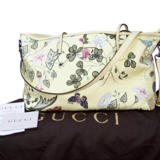 Gucci Limited Edition Flora Knight Tote Medium Bag