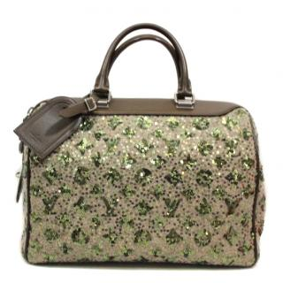 Louis Vuitton Limited Edition Khaki Monogram Sunshine Express Speedy