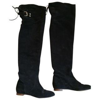 Chloe Crosta Knee High Boots