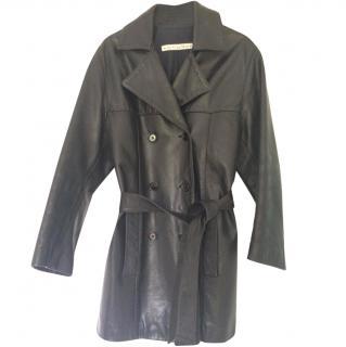 Jey Cole Man Black Leather Jacket
