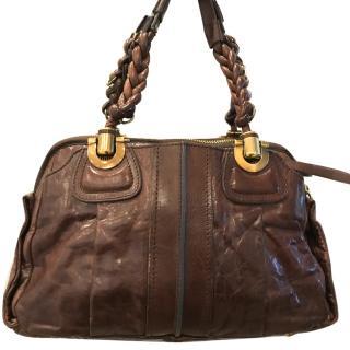 Chloe Brown Leather Bag