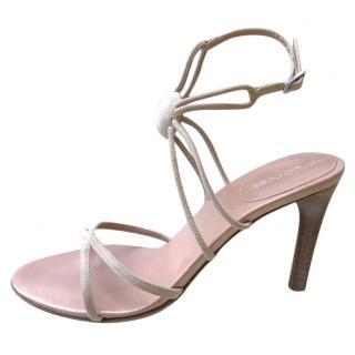Sergio Rossi Nude Sandals