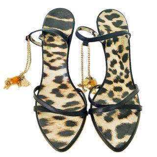 Roberto Cavalli Chain Sandals