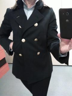 DSquared2 Double Breasted Navy Blue Jacket