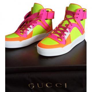Gucci Fluo Matt Sneakers G36
