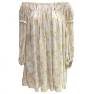 Temperley boho tunic dress