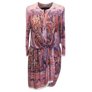 Isabel Marant Maryloe Mankolam Paisley Dress
