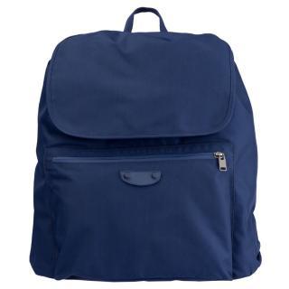 Balenciaga Blue Backpack