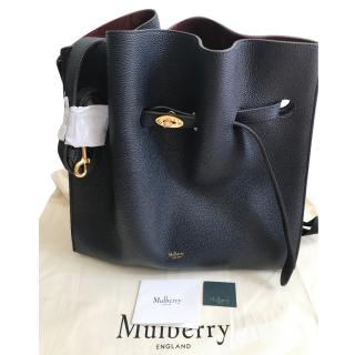 Mulberry Tyndale Midnight Small Classic Grain