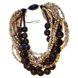 Angela Caputi Beaded Necklace