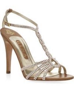 Gina Crystal Sandals