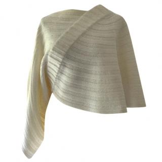 Chanel Ivory Poncho