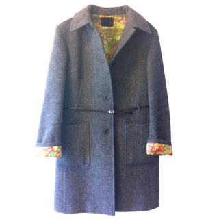 D&G Grey Wool Coat