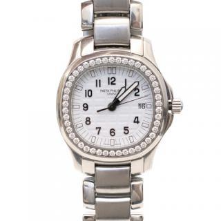 Patek Philippe Aquanaut Luce Stainless Steel Diamond Watch