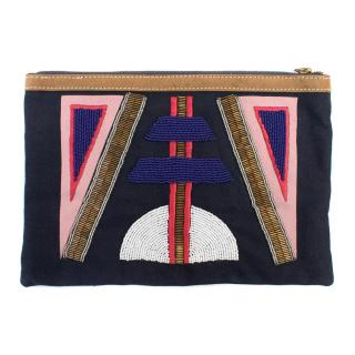 Sass & Bide Beaded Clutch