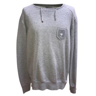 Dior Mens Grey Sweatshirt