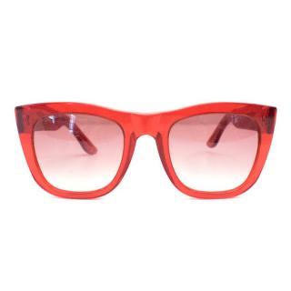 Retrosuperfuture Red Sunglasses