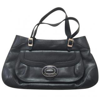 Anya Hindmarch Black Leather Bag