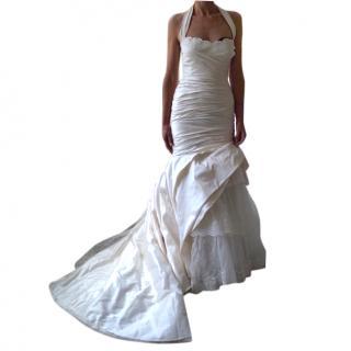 Pronovias Silk Wedding Gown