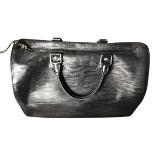 Louis Vuitton Black Travel Bag