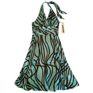 Simona Silk Dress