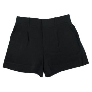 Chloe Black Tailored Shorts